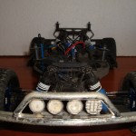 Traxxas Slash 4x4 - defensa delantera RPM con luces