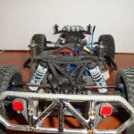 Traxxas Slash 4x4 - defensa trasera RPM con luces