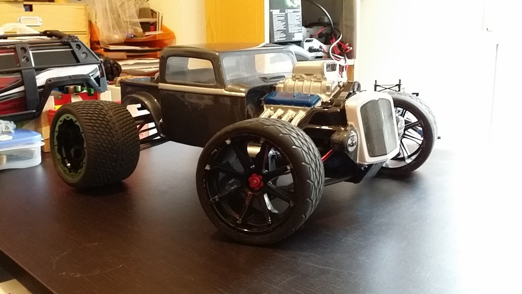 Traxxas E-Revo Hot Rod