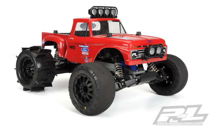 Traxxas Stampede con Pro-Line Sand Paw
